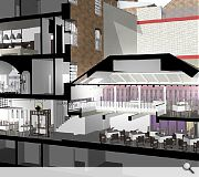 Interiors will be reworked to accommodate a host of new facilities
