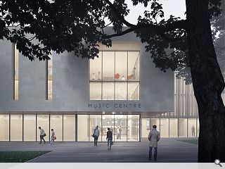 University of St Andrews preview £8m music centre
