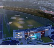Topgolf is described as a 'tech-heavy, multi-level golf entertainment venue with quality on-site food and drink'