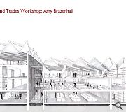 Amy Brazenhall devised this saw-toothed factory and trades workshop