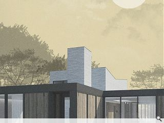 Contemporary Bearsden villa waved through by planners