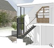 The extension will provide improved connectivity and much needed natural light