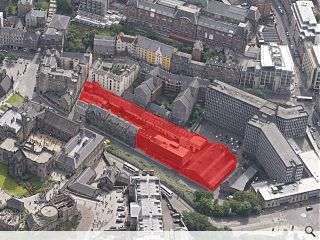 Arts quarter earmarked for Edinburgh's King's Stables Road