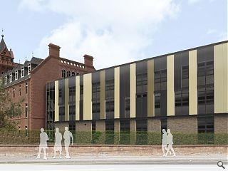 Redevelopment work commences at B-listed Dumfries College