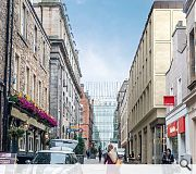 The Rose Street elevation will be completely rebuilt in tandem with the copper roof