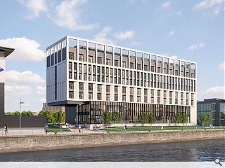 Pacific Quay to welcome a 150-bed waterfront hotel