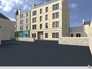Morningside flats backers resort to plan b