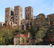 Durham Cathedral as it could have looked at the hands of Louis Kahn
