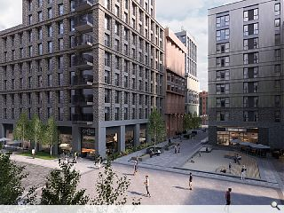 New image illustrates the scale of Glasgow's Candleriggs transformation