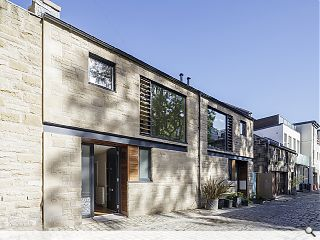 New Town mews embodies city centre living