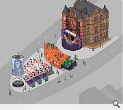 Annan's Central Hotel reimagined as a pop-up theatre