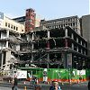 Demolition progresses on Queen Street eyesore
