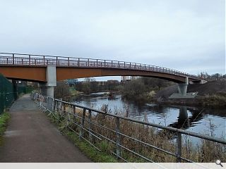 Cuningar bridge opens to pedestrians and cyclists