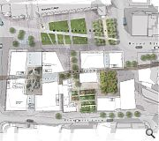 The plans entail recreation of Guestrow, one of a number of historic streets which once criss-crossed the site