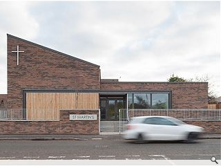 Ian Springford completes Magdalene Drive church hall and housing