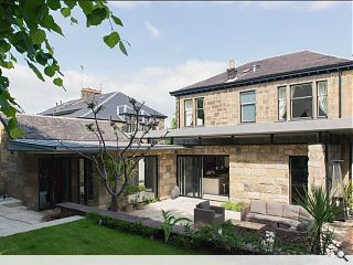 Broomhill villa extension unveiled