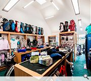 A well stocked shop offers everything a golfer could want