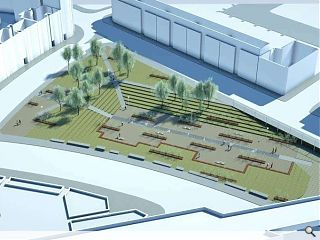 Merchant City gap site to be turned into public park