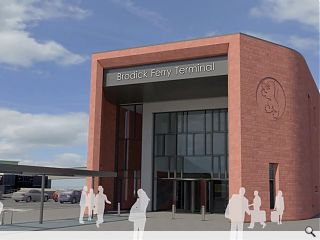 One year to go for Brodick ferry terminal redevelopment