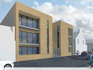 Developer looks to clean up with Portobello flats plan