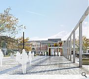 The Market Square in Galashiels could be transformed into an events and activity space