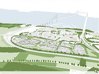 Plans lodged for 980 home Queensferry expansion