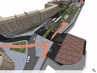 Visions for new capital tram stops unveiled