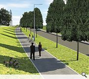 A n umber of road improvement schemes are also in the works