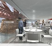 The visitor centre would offer education, exhibition and catering facilities