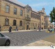 Improvements will centre on the area around Clydebank Town Hall