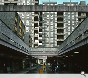Sir Basil Spence's Hutchesontown scheme, Gorbals, demolished in 1993