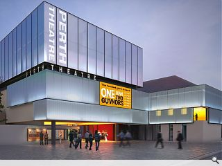 Amended Perth Theatre design submitted