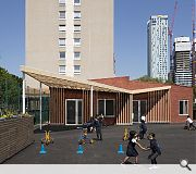 This new classroom at Seven Mills Primary, Tower Hamlets, caught the eye of judges