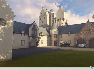 'Sympathetic' Aboyne Castle extension on the cards