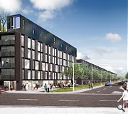 1,000 new homes are planned for Dalmarnock Village