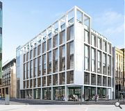 The new block will rise on the corner of Fountainbridge and Semple Sytreet