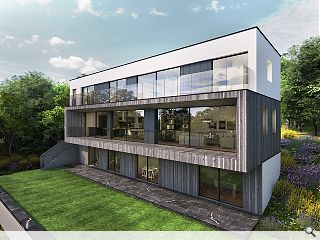 DTA reach out to planners with cantilevered Bothwell home
