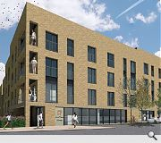 A mixture of houses and terraces will be built at the heart of the development