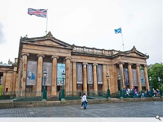 Gareth Hoskins win £9m Scottish National Gallery comp