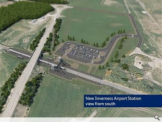 Inverness Airport Station back on the cards