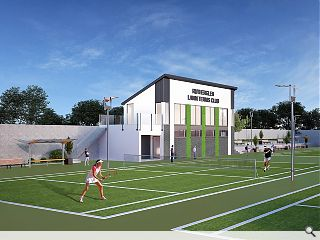 Rutherglen Tennis Club courts players with new clubhouse
