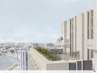'Living machine' tabled for Glasgow waterfront