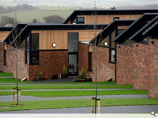 Ayrshire Housing unveil new Maybole homes