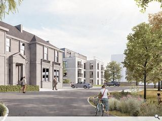 Giffnock care home on course to host 56 flats