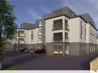 Stalled Corstorphine care home reimagined as flats
