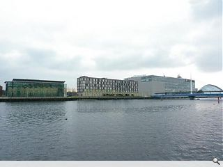 Plans submitted for Pacific Quay Premier Inn