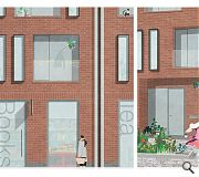 Hannah Cattanach of Robert Gordon University secured an urban design award for a brick residential scheme