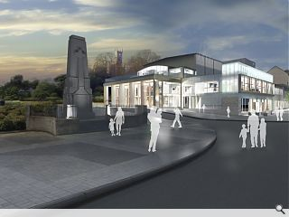 Finalised plans for Dunoon's Queens Hall approved