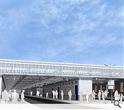 Existing steelwork will be strengthened and the station repainted as part of the overhaul