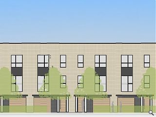 Plans for Gorgie Road townhouses emerge